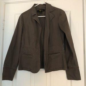 Gloria Vanderbilt Gray blazer